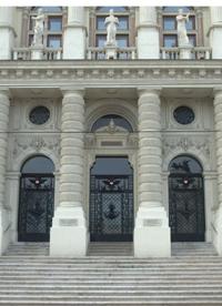 Haupteingang Justizpalast