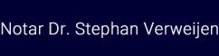 Logo Notar 1050 wien Dr. Stephan Verweijen