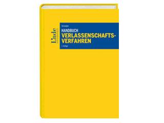 Verlassenschaftsverfahren Deckblatt 2. Auflage